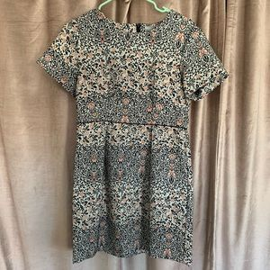 H&M Short Floral Short Sleeve Dress (10)